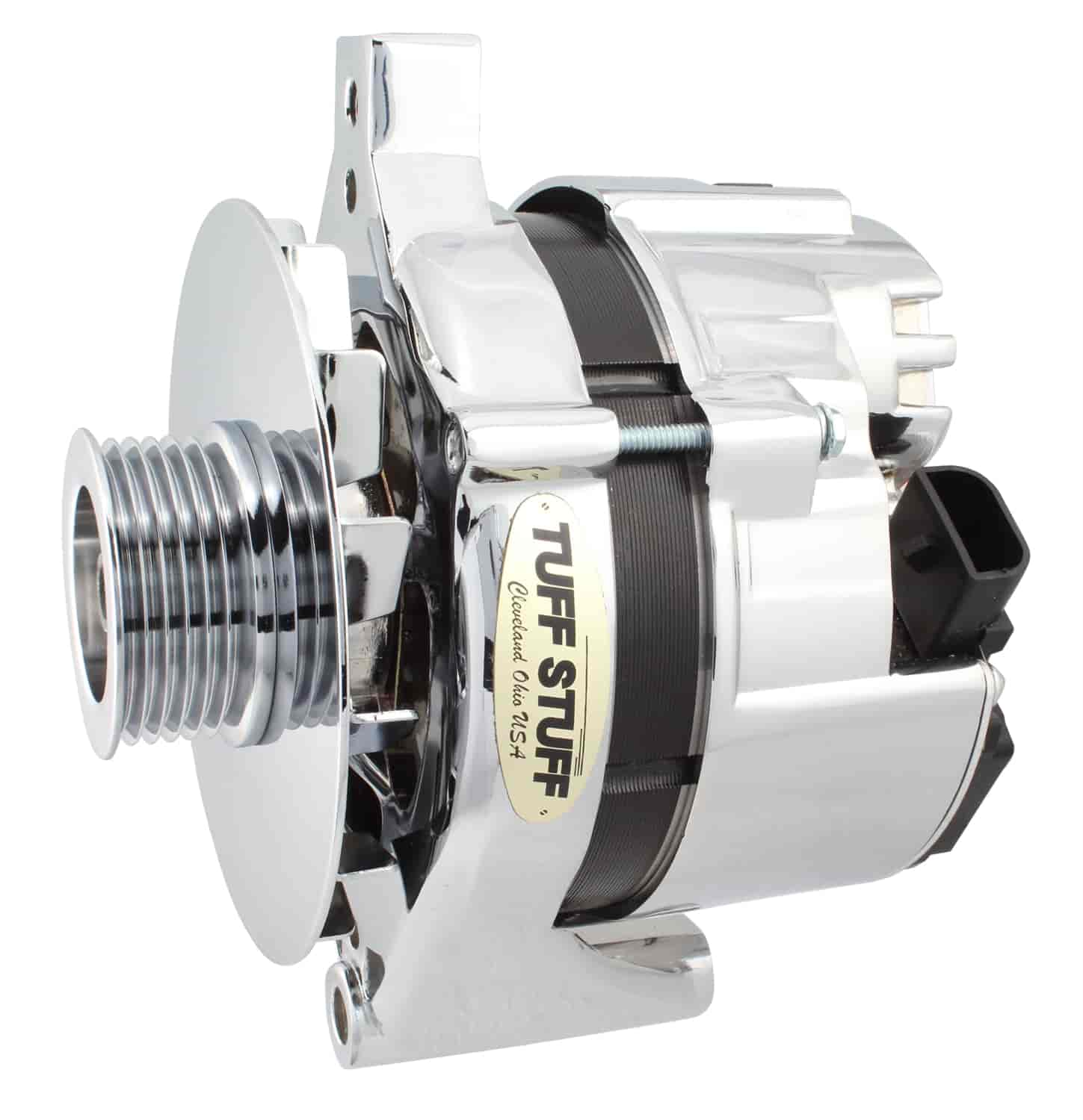 Tuff Stuff 7716B - Tuff Stuff Chrome Alternators