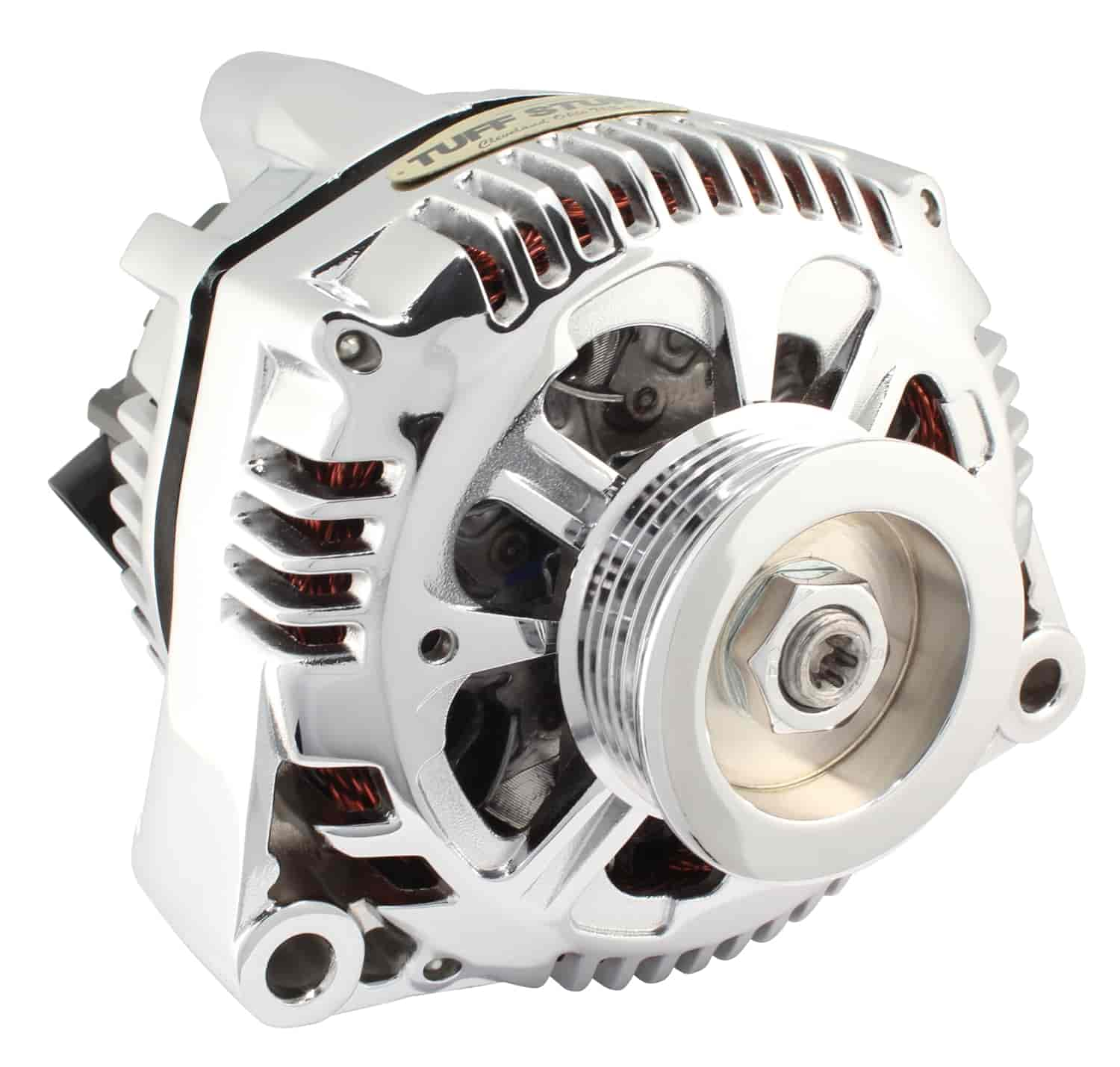 Tuff Stuff 7721NA - Tuff Stuff Chrome Alternators