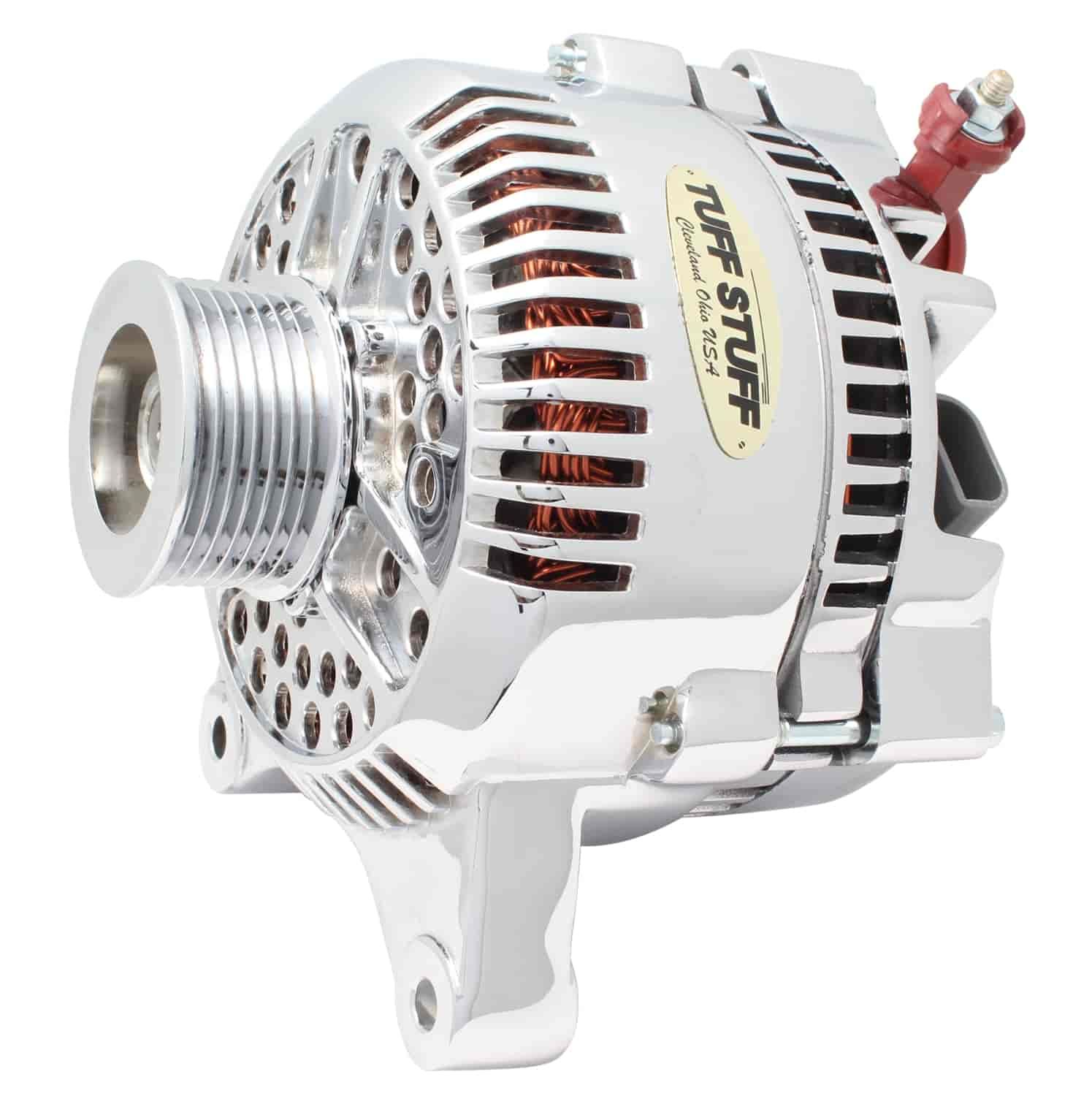 Tuff Stuff 7764A - Tuff Stuff Chrome Alternators
