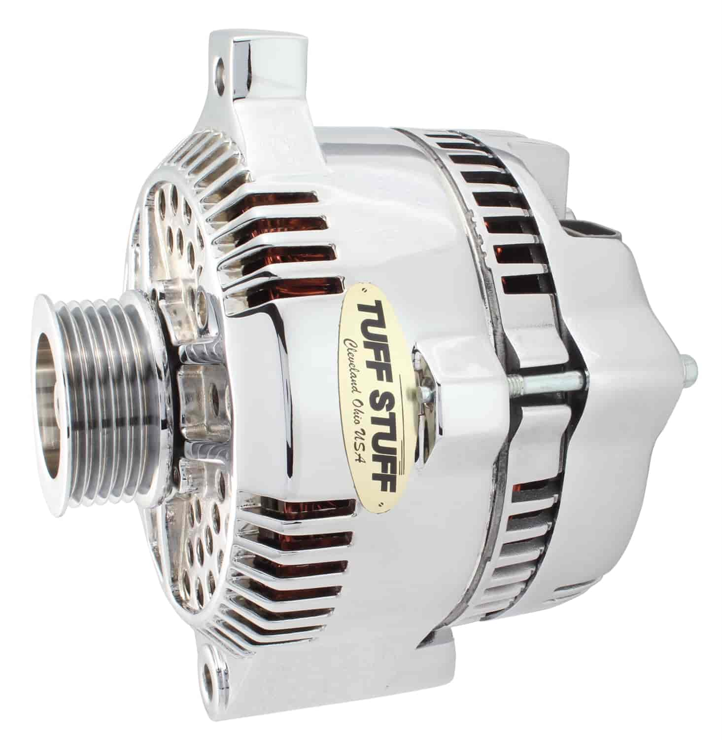 Tuff Stuff 7771A6G - Tuff Stuff Chrome Alternators