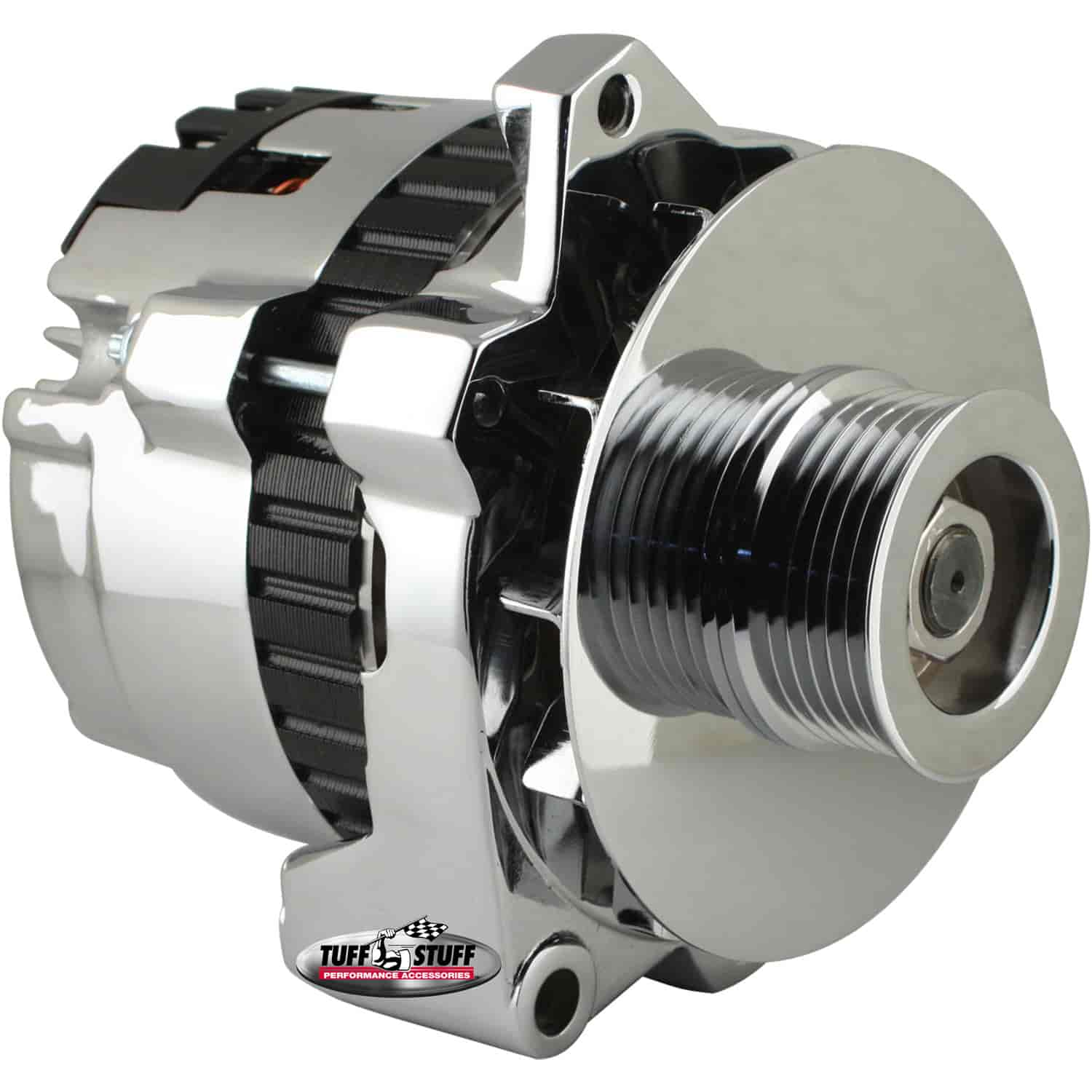 Tuff Stuff 7861A6G - Tuff Stuff Chrome Alternators