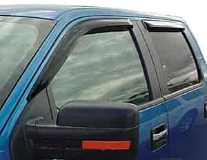 JEGS Performance Products 51496J - JEGS Tape-On Side Window Visors
