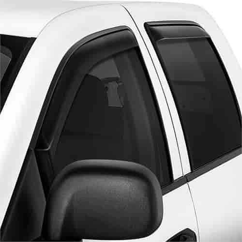 Toyota Tundra Double Cab 2007-2018 Wind deflectors In-Channel