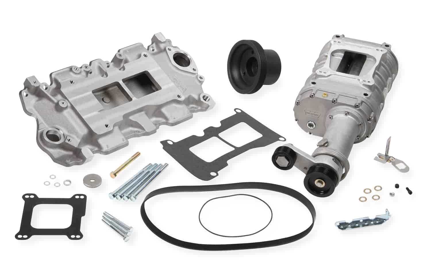 Weiand 6500-1 - Weiand 142/144 Series Pro-Street Supercharger Kits For Chevy