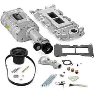 Weiand 6502-1 - Weiand 142/144 Series Pro-Street Supercharger Kits For Chevy