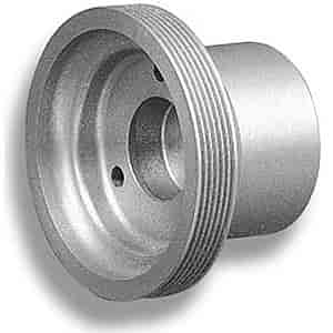 Weiand 6723 - Weiand Supercharger Pulleys - Serpentine