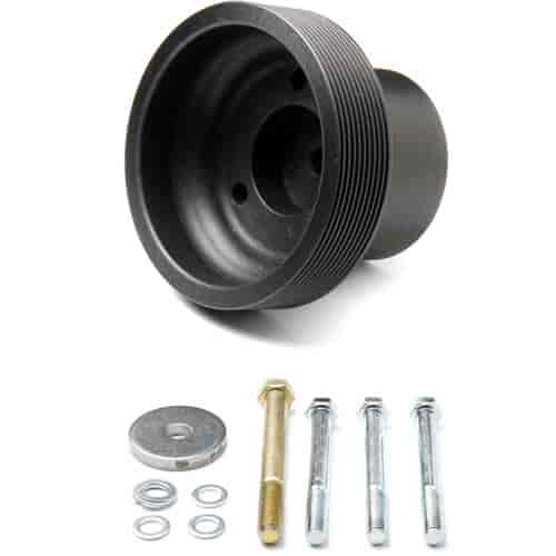 Weiand 6810 - Weiand Supercharger Pulleys - Serpentine