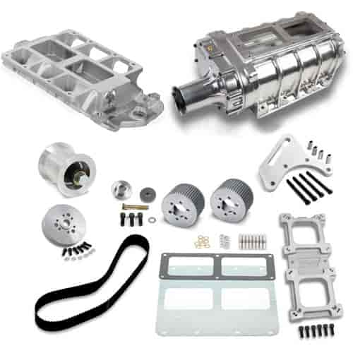 Chevy Diesel Blower: Wei& 7386P: 8-71 Supercharger Kit BBC (Standard Deck