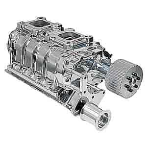 Weiand 6-71 Supercharger Kit Big Block Chevy (Standard Deck) Drive Pitch:  1/2