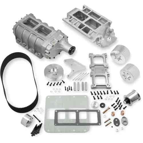 Weiand 6-71 Supercharger Kit Big Block Chevy (Standard Deck) Drive Pitch:  1/2