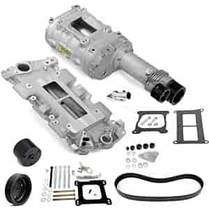 Weiand 7740-1 - Weiand 142/144 Series Pro-Street Supercharger Kits For Chevy