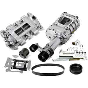 Weiand 7750-1 - Weiand 142/144 Series Pro-Street Supercharger Kits For Chevy