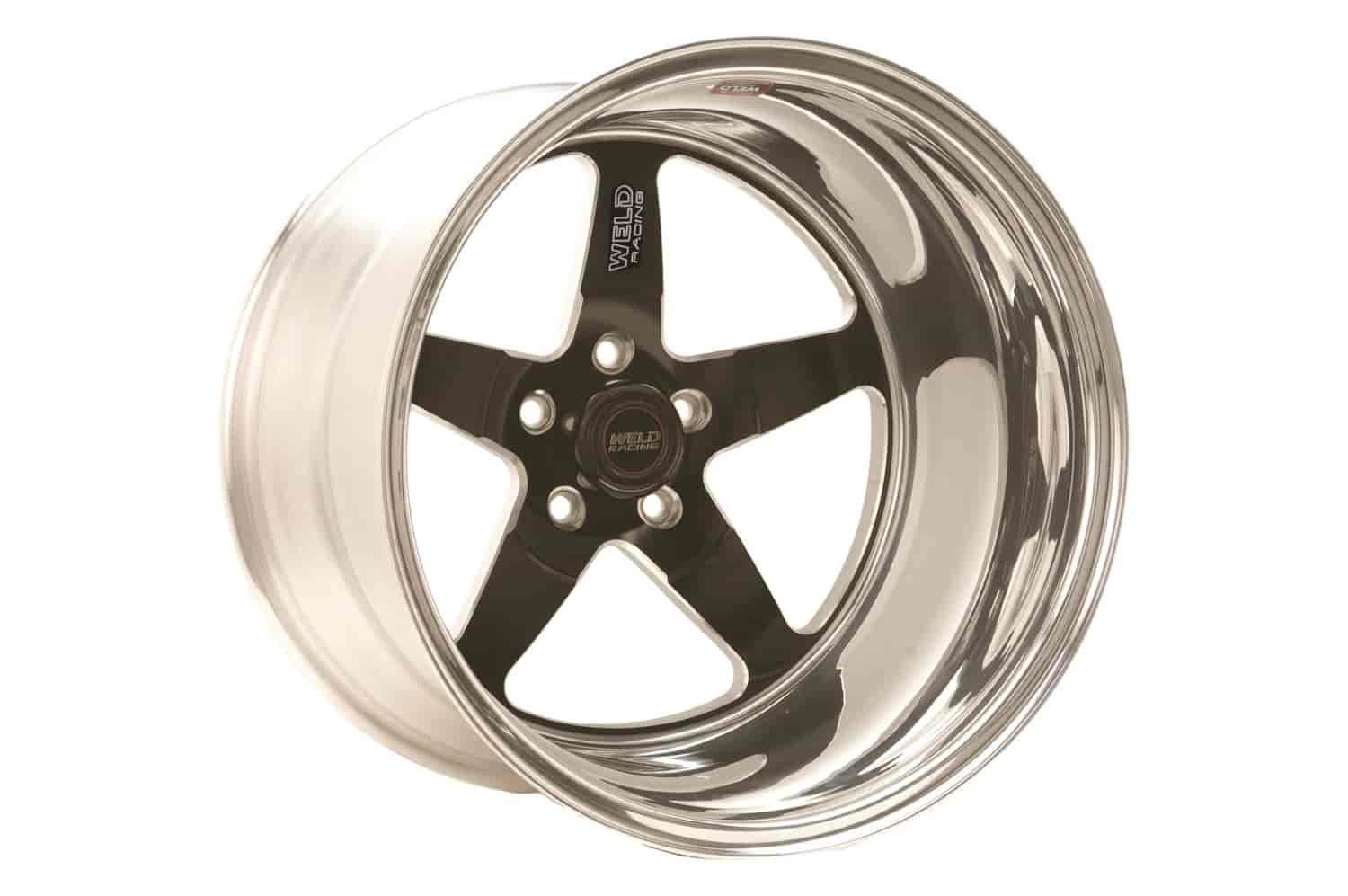 15 x 3 Race Star Wheels 92-537240B 92 Series Drag Star Bracket Racer Wheel Size