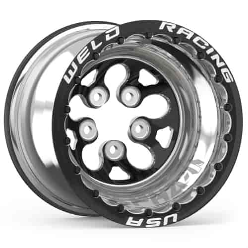 Weld Racing 83b511206mbs Alpha 1 Black Finish Double Beadlock Wheel