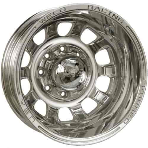 Weld Racing D55P7065F15R - Weld Racing Forged D55-Series Dually Polished Wheels