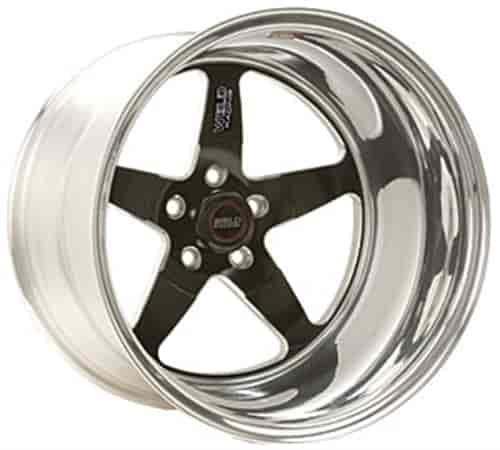 Weld Racing 71LB-506B35A - Weld Racing RT-S Low Pad Black Wheels