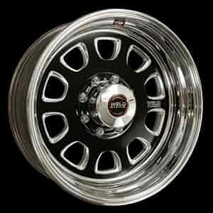Weld Racing R55B6060E35A - Weld Racing Forged R55-Series Black Trailer Wheels