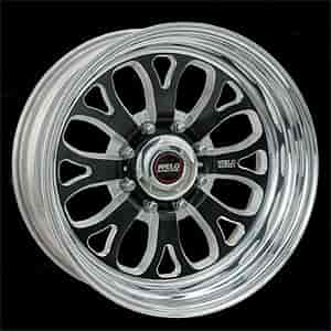 Weld Racing R58B6060F35A - Weld Racing Forged R58-Series Black Trailer Wheels