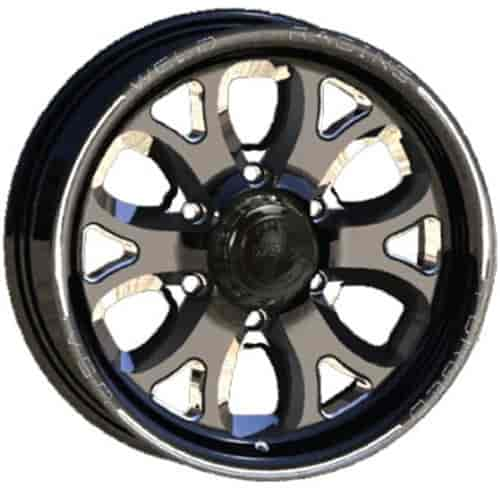 Weld Racing R58B6060F35A - Weld Racing Rekon TR Forged R58-Series Black Trailer Wheels