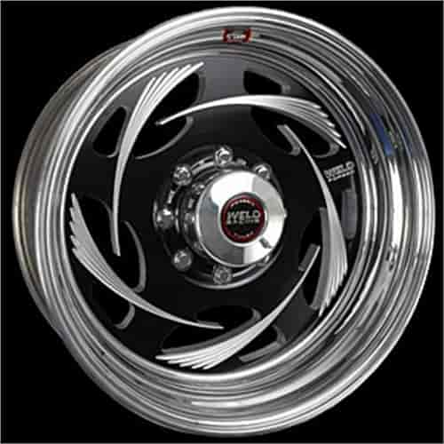 Weld Racing R53B6060E35A - Weld Racing Forged R53-Series Black Trailer Wheels