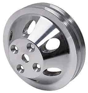 Wysco WA9483 - Wysco Satin Billet Style Pulleys