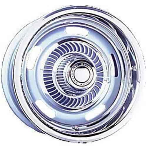Wheel Vintiques 37 51205042 Silver 37 Series Truck Rallye Wheel