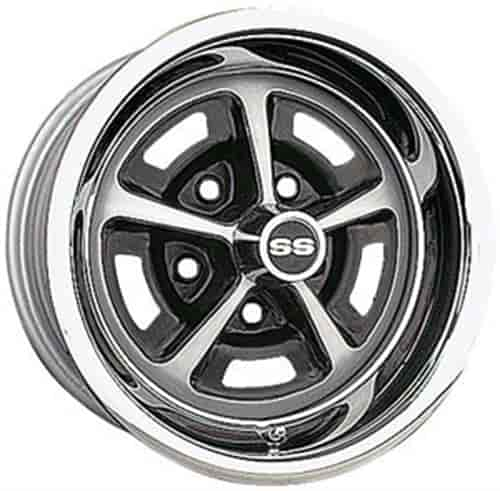 Wheel Vintiques 50 583405 50 Series Ss 396 Wheel Size 15 X 8