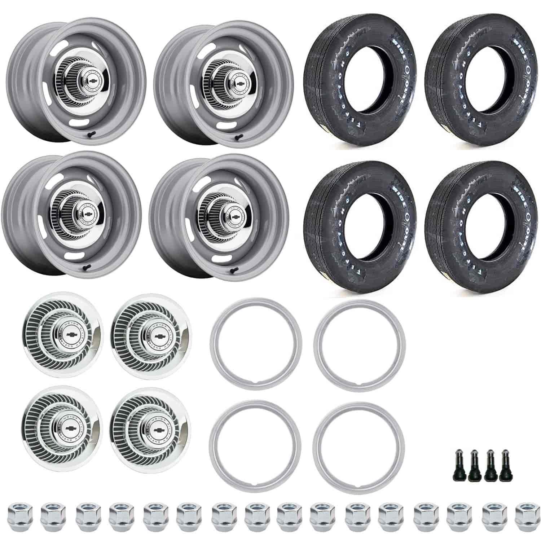 white letter tire kit us wheel 55 4710k1