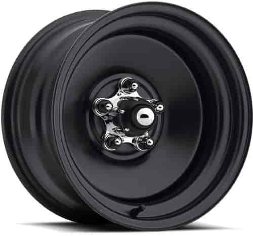 U S Wheel 68 5712 Matte Black Rat Rod Wheel Series 68