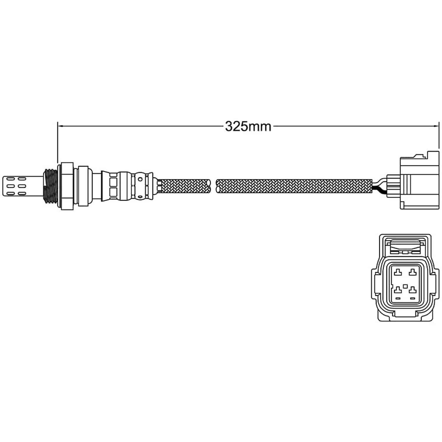 Walker Oxygen Sensor Wiring Diagram Trusted Diagrams Co2 Products 250 24680 O2 Jegs