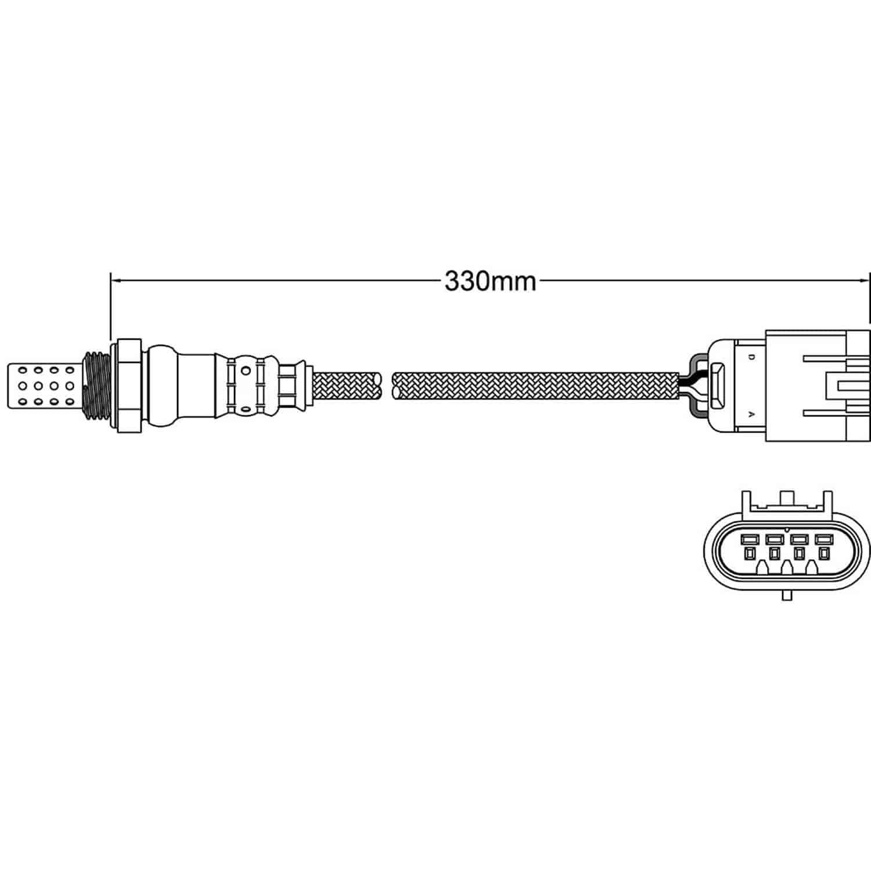 Oxygen Sensor-Walker OE Walker Products 250-24690