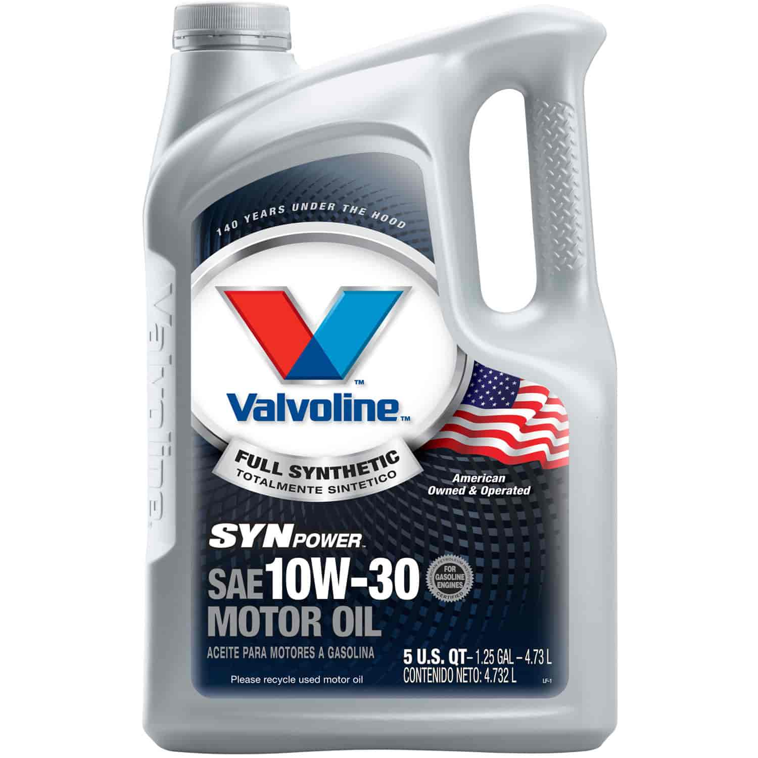 Valvoline 787002 synpower full synthetic motor oil 10w30 for Synthetic motor oil sale