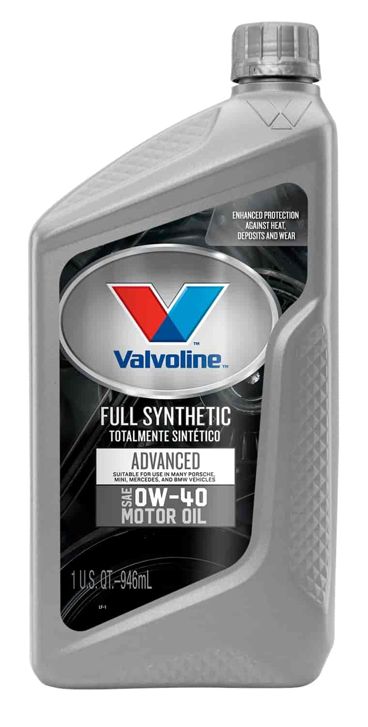 Valvoline 852518 Synpower Full Synthetic Motor Oil 0w40