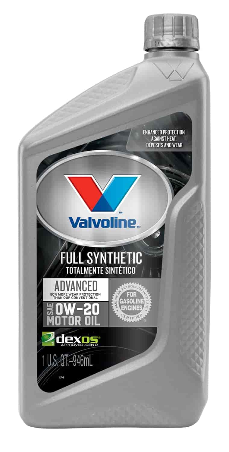 Valvoline Vv916 Synpower Full Synthetic Motor Oil 0w20 Jegs