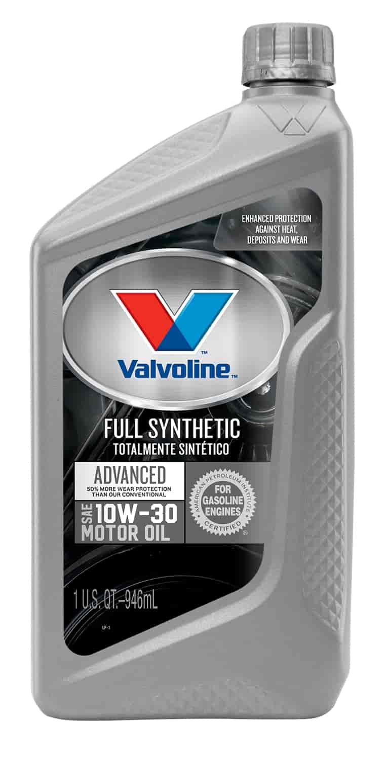 Valvoline vv935 synpower full synthetic motor oil 10w30 for Best non synthetic motor oil