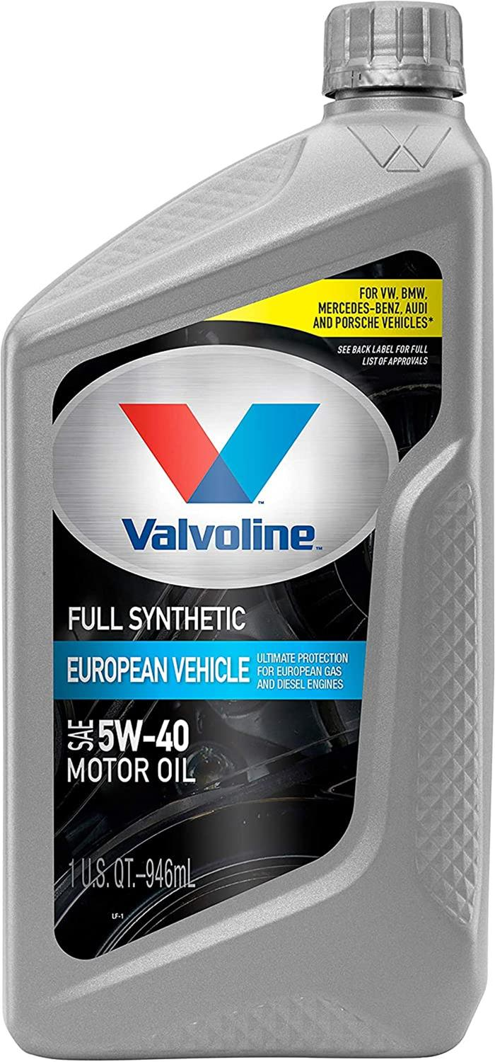 Valvoline vv966 synpower mst full synthetic motor oil 5w40 for Best non synthetic motor oil
