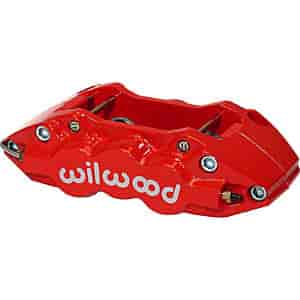 Wilwood 120-11669-RD - Wilwood W4A 4 Piston Forged Aluminum Brake Caliper
