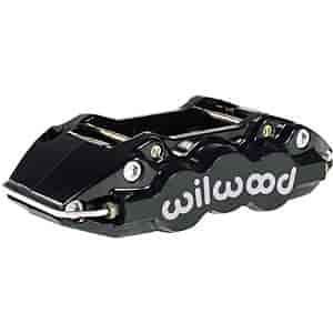 Wilwood 120-11660-BK - Wilwood W4A 4 Piston Forged Aluminum Brake Caliper