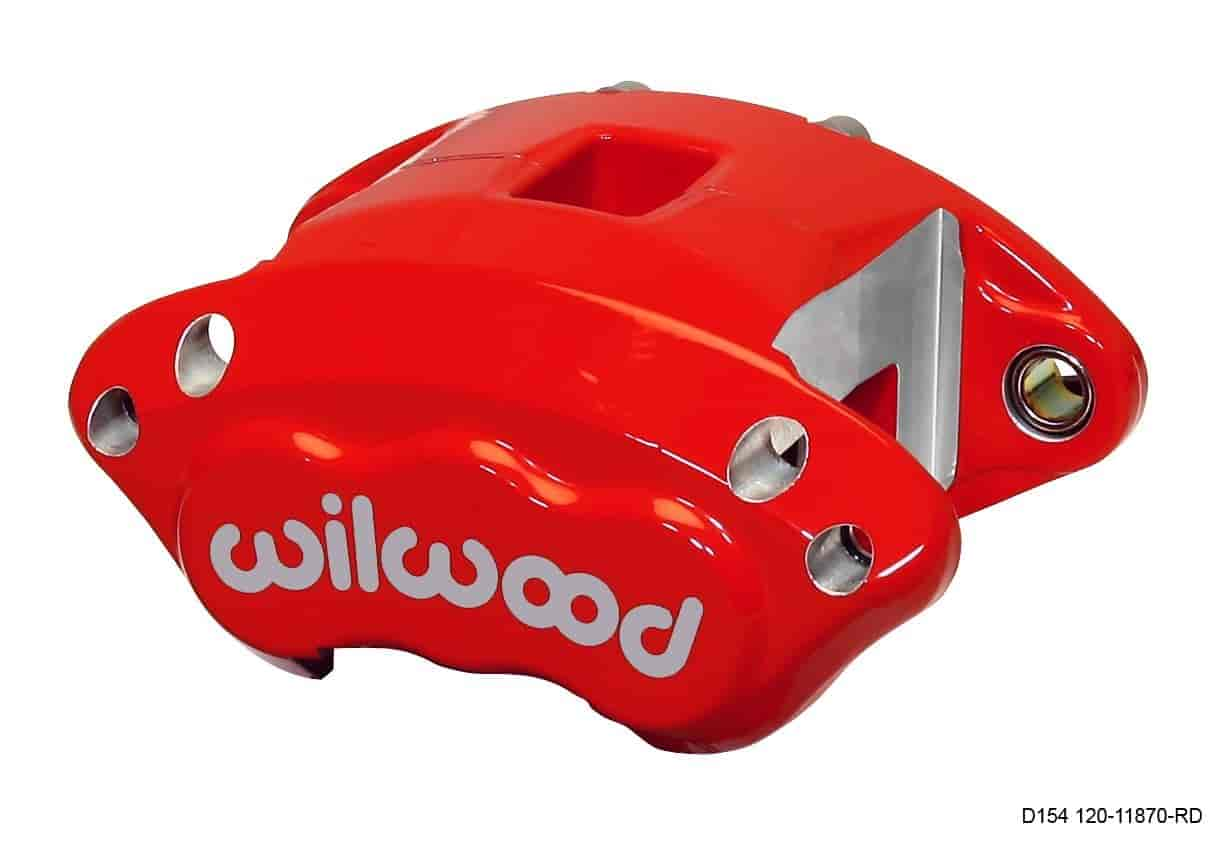 Wilwood 120-11870-RD - Wilwood D154 Single & Dual Piston Floater Calipers