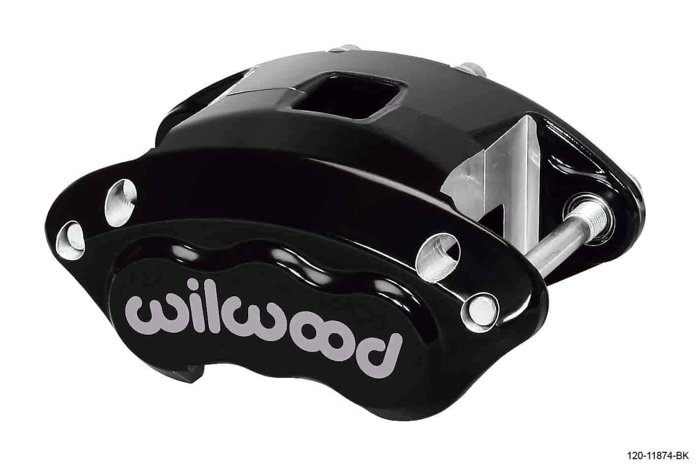 Wilwood 120-11874-BK - Wilwood D154 Single & Dual Piston Floater Calipers