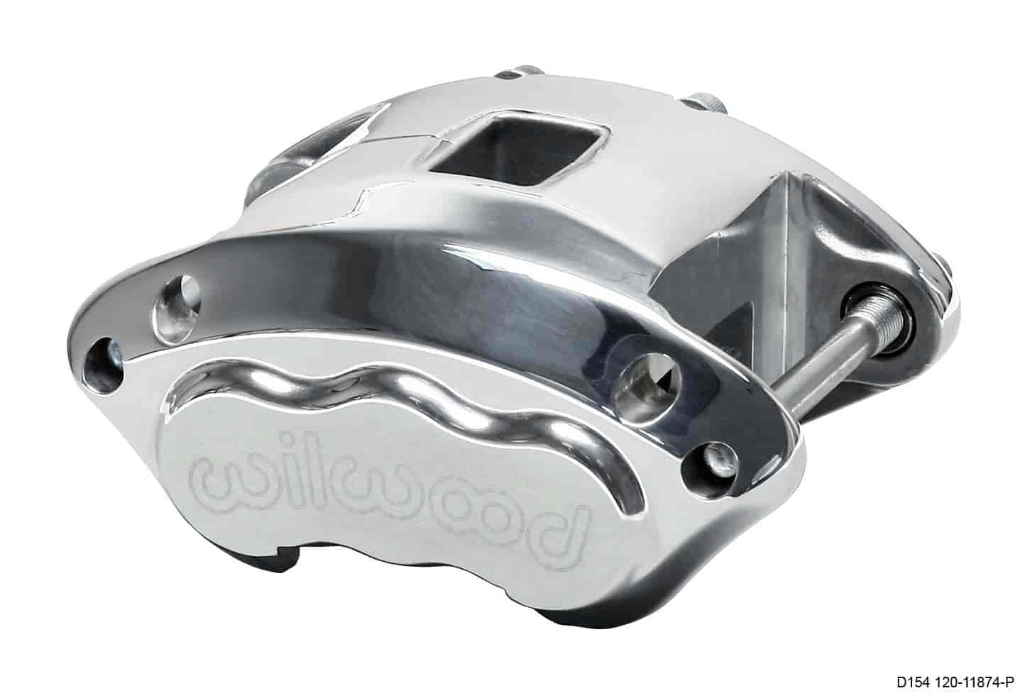 Wilwood 120-11874-P - Wilwood D154 Single & Dual Piston Floater Calipers