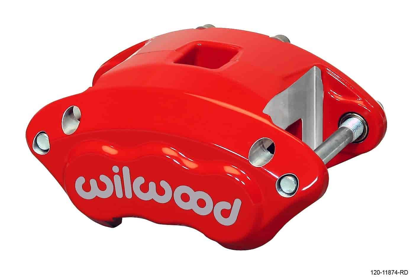 Wilwood 120-11874-RD - Wilwood D154 Single & Dual Piston Floater Calipers