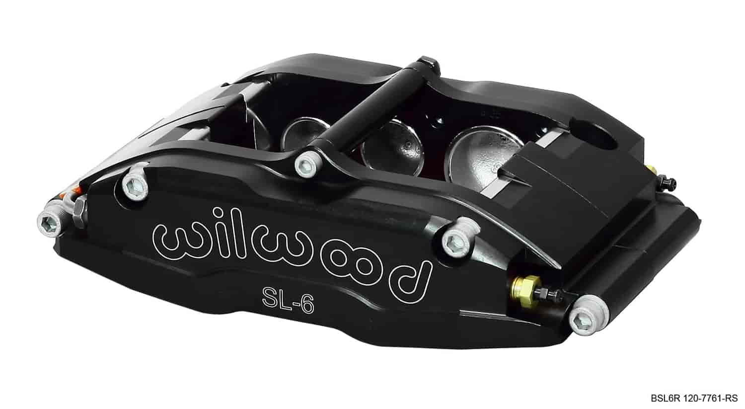 Wilwood 120-7761-RS - Wilwood SL6R 6 Piston Radial Mount Billet Aluminum Brake Caliper