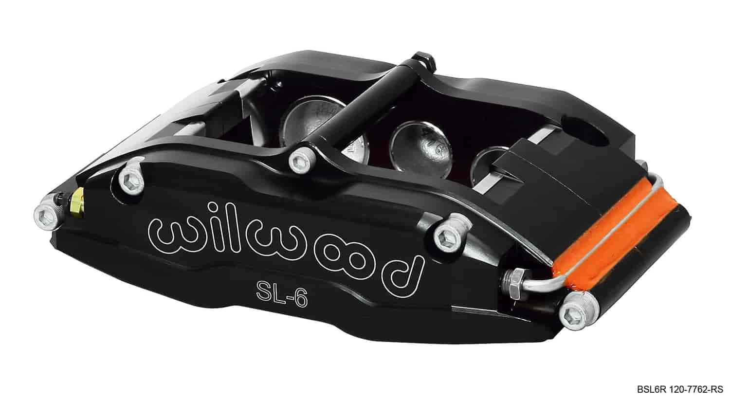 Wilwood 120-7762-RS - Wilwood SL6R 6 Piston Radial Mount Billet Aluminum Brake Caliper
