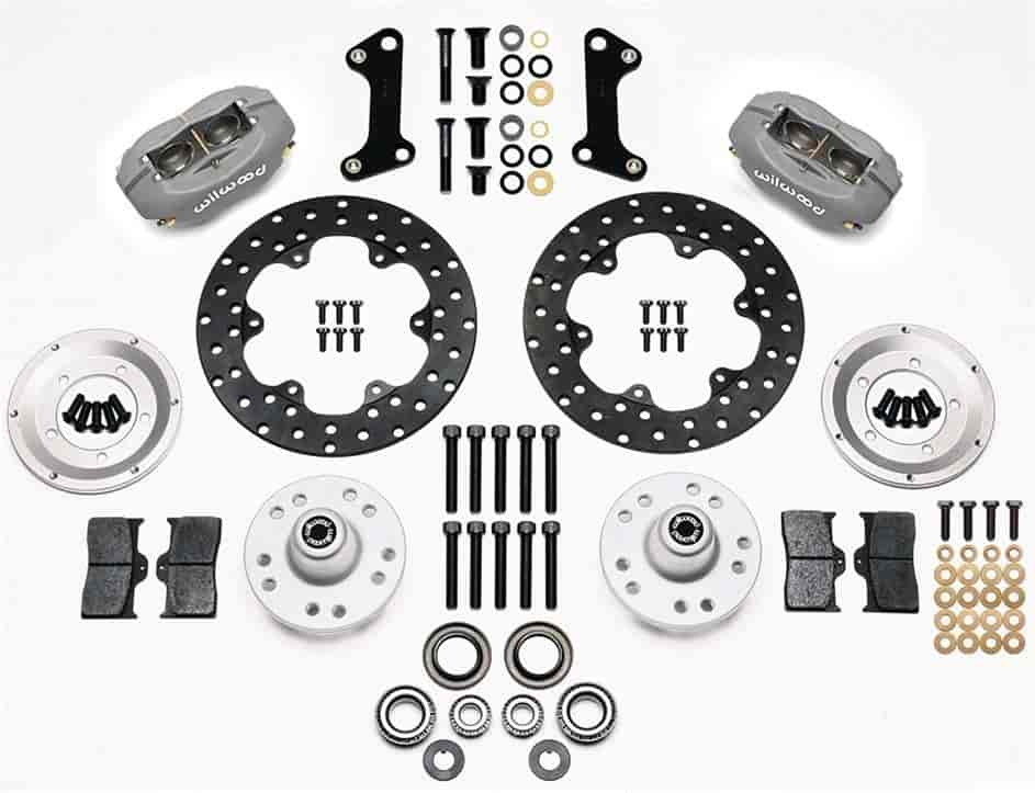 Wilwood 140-1017-BD - Wilwood Forged Dynalite Front Drag Brake Kits