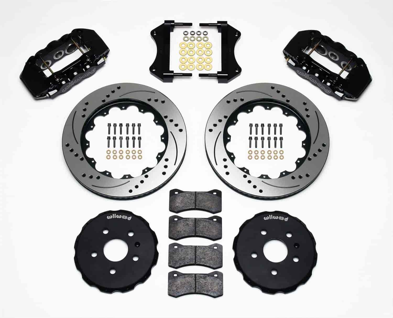 Wilwood 140-11269-D - Wilwood Superlite 6 Big Brake Front Hat Kits