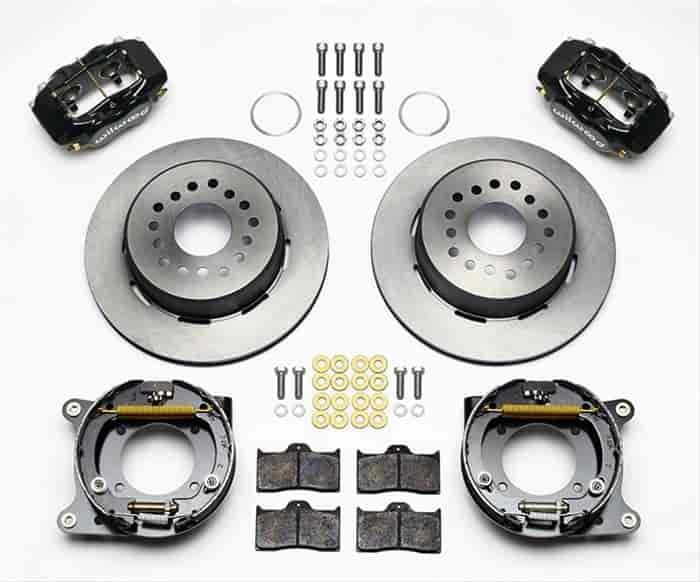 Wilwood 140-11828 - Wilwood Forged Dynalite Rear Parking Brake Kits