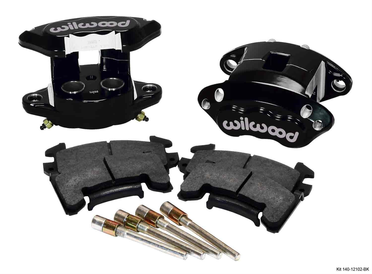 Wilwood 140-12102-BK - Wilwood D154 Rear Caliper Kits