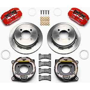Wilwood 140-12589-R - Wilwood Dynapro Low-Profile Brake Kits