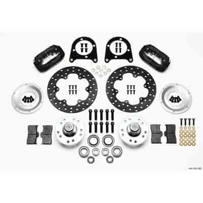Wilwood 140-1501-BD - Wilwood Forged Dynalite Front Drag Brake Kits